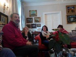 Le Café Littéraire de BA accueille un écrivain