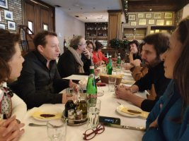 Misha Aznavour et Marc Di Domenico à Belgrade