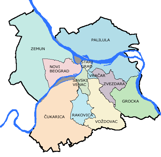 Belgrade-Districts-Lat